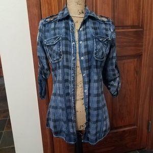 ROAR brand embellished shirt